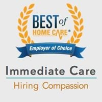 Immediate Care  In-Home Caregivers