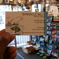 Barnacle Bill's Bait & Tackle.
