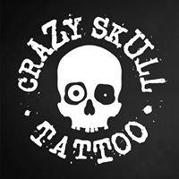 CRAZY SKULL Tattoo