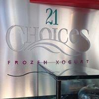 21 Choices Frozen Yogurt