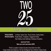 Two25 The Event Place