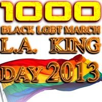 King Day 1000 BLK Lgbt Marching