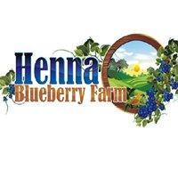 Henna Blueberry Farm