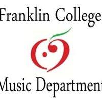Franklin College Music Department