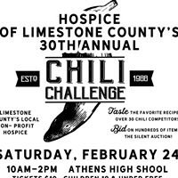 Hospice of Limestone County Chili Challenge
