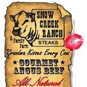Snow Creek Ranch Steaks