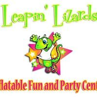 Leapin' Lizards Inflatable Fun & Party Center