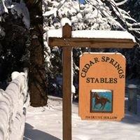 Cedar Springs Stables