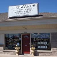 J Edwards Fine Chocolates Gourmet Cakes