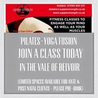 Supple Strength Pilates Yoga Fusion