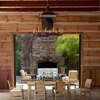 Hickory Fireplace and Patio