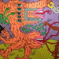 Expo Keith Haring Musee D'art Moderne Paris