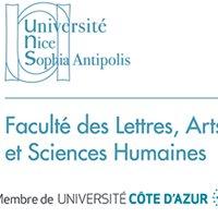 Faculté des Lettres, Arts et Sciences Humaines de Nice
