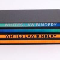 Whites Law Bindery