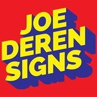 Joe Deren Signs