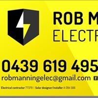 Rob Manning Electrical Pty Ltd licence 77379