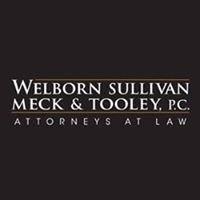 Welborn Sullivan Meck & Tooley PC