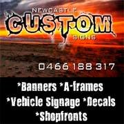 Newcastle Custom Signs