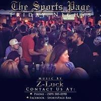 SportsPage Bar