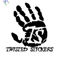 Twisted Stickers & Signs