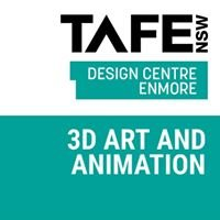 TAFE NSW, 3D Art and Animation, Design Centre Enmore