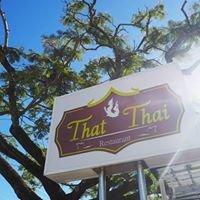 That Thai Restaurant