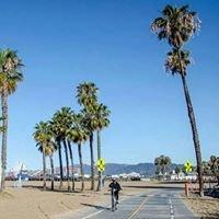 Santa Monica Beach Bike Path