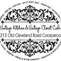 Vintage Kitchen and Vintage Closet Cafe