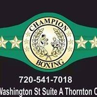 Champion Boxing LLC