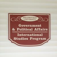 Millersville University, Department of Government and Political Affairs