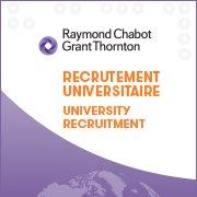 Raymond Chabot Grant Thornton - Recrutement universitaire