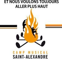 Camp musical St-Alexandre