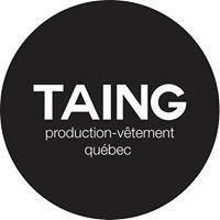 Taing Production Vêtement Québec