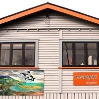 Matapihi Art Gallery. Raglan NZ