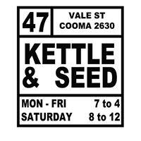 Kettle & Seed.  Cafe & Coffee Roaster
