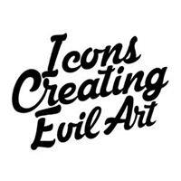 Icons Creating Evil Art
