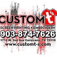 Custom T's