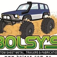 Bolsy's Custom Sheetmetal, Trailers and Fabrications