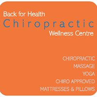 Back for Health Chiropractic Wellness Centre