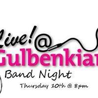 Live at The Gulbenkian