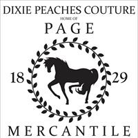 Dixie Peaches Couture Home of Page Mercantile