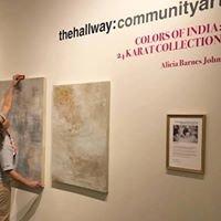The hallway: community art