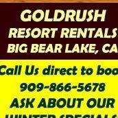 Gold Rush Resort Rentals, Big Bear Lake, CA