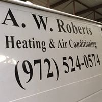 A W Roberts Heating and Air Conditioning, Inc