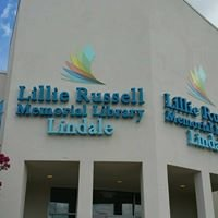 Lillie Russell Memorial Library in Lindale