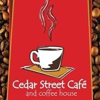 Cedar Street Cafe and coffeehouse