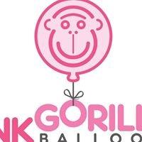 Pink Gorilla Balloons