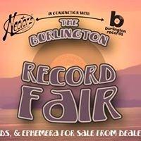 Burlington Record Fair