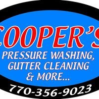 Cooper's Pressure Washing, Gutter Cleaning & More