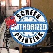 Unauthorized Screen Printing